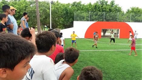 torneo libre varonil de futbol..